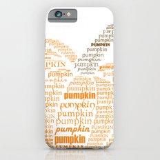 Pumpkin typography iPhone 6s Slim Case