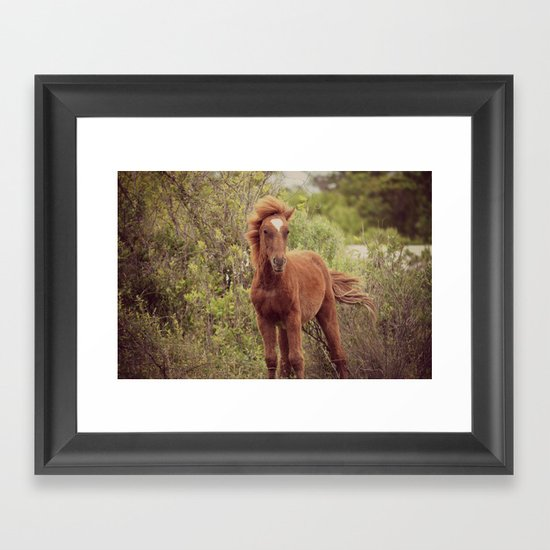 If God made anything more beautiful... Framed Art Print