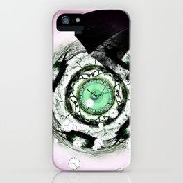 RAINY DAY PEOPLE iPhone Case