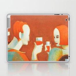Aperol 'Salute!' Wine and Wine Alcohol Aperitif Vintage Advertisement Poster Laptop & iPad Skin