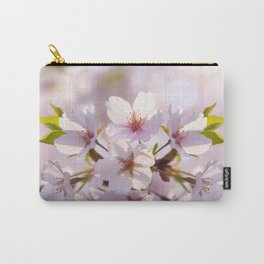 Cherry Blossom Ray of Light Carry-All Pouch
