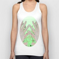 bag Tank Tops featuring Bag by Art Barf