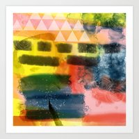Summer feeling Art Print