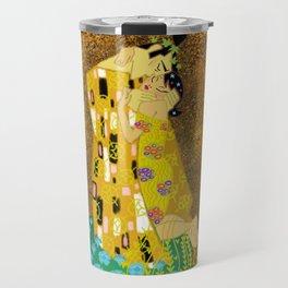 The Samurai Kiss Travel Mug