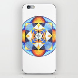 Solar Kaleidoscope (ANALOG zine) iPhone Skin