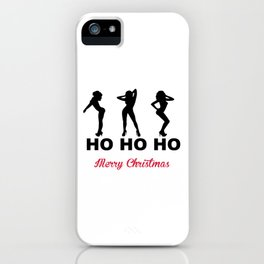Ho Ho Ho Merry Christmas iPhone Case