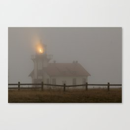 Cabrillo Lighthouse Mendocino California Canvas Print