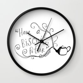 Have a Biscuit, Potter Wall Clock