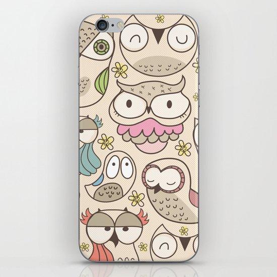 The owling iPhone & iPod Skin