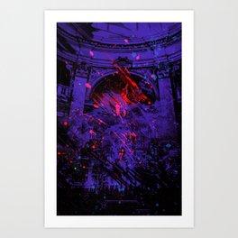 Mash 3 Art Print