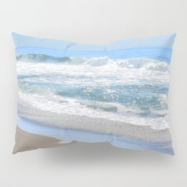 Baby Blue Ocean Pillow Sham