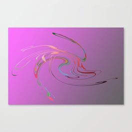 Power and positive energy, 17 Canvas Print