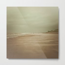 Wind Beach Metal Print