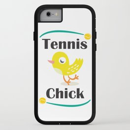 Tennis Chick iPhone Case