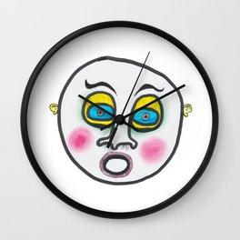 Blushing fool! Wall Clock