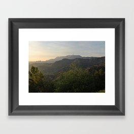 Afternoon Scenery  Framed Art Print