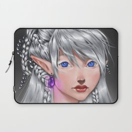 The White Mage Laptop Sleeve