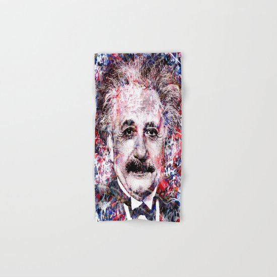ALBERT EINSTEIN Hand & Bath Towel