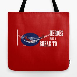 Spider man comic heroe Tote Bag
