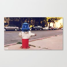 Hydrant National ∫ Living Los Angeles Canvas Print