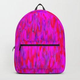 red purple verticals Backpack