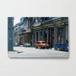 Casa Cubana Metal Print