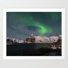 Luck & Patience in the Arctic Art Print