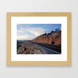 Open Road Framed Art Print