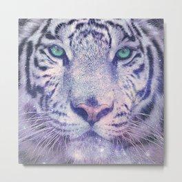 Star Tiger - animal t shirt, animal print t shirt, wildlife t shirt, Metal Print
