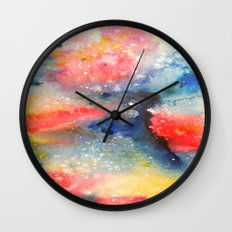 Colors 2 Wall Clock