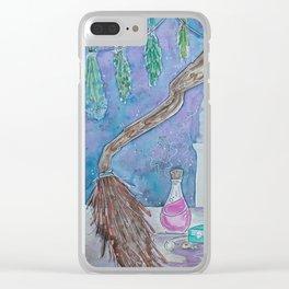 Witch's Cupboard Clear iPhone Case