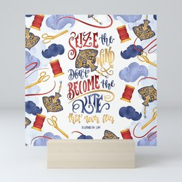 SEIZE THE WIND Mini Art Print