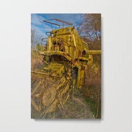 retired Metal Print