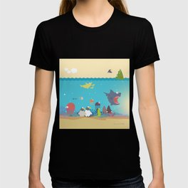 What's going on at the sea? Kids collection T-shirt