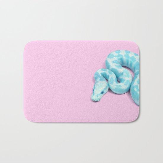 BLUE SNAKE Bath Mat