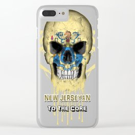 To The Core Collection: New Jersey Clear iPhone Case