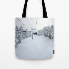 Skiing Vermont Tote Bag