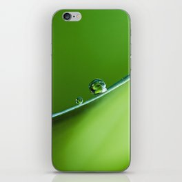 drops on the edge iPhone Skin