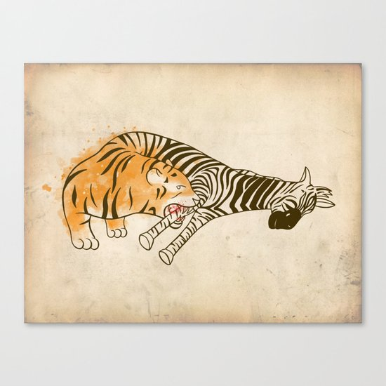 A Self Containing Food Chain Canvas Print
