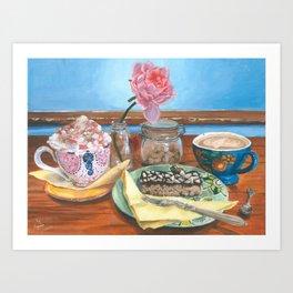 ''Catching Up'' Art Print