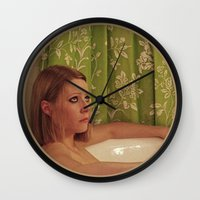 tenenbaum Wall Clocks featuring MARGOT TENENBAUM by VAGABOND