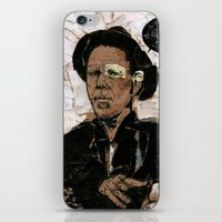 tom waits iPhone & iPod Skins featuring Tom Waits? by Andy Christofi