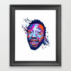 Ol' Dirty Bastard: Dead Rappers Serie Framed Art Print