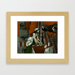 The Fortune Teller Framed Art Print