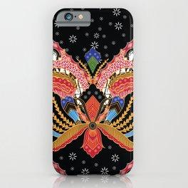 Batik, an Indonesian, originated from Java. iPhone Case