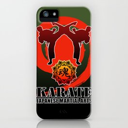 karate5 iPhone Case