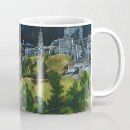 View of Toledo by El Greco (1599) Coffee Mug