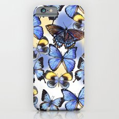 Pattern with butterflies iPhone 6s Slim Case