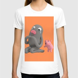 Rosa is angry with Lars T-shirt