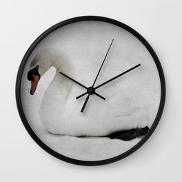 The Ancient Swan Wall Clock